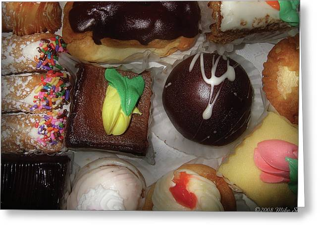 Bonbon Greeting Cards - Food - Candy - Oh Boy Greeting Card by Mike Savad