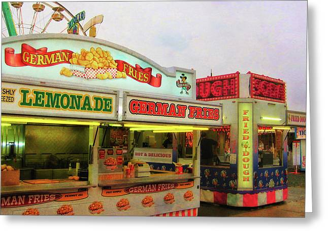 Food And Fun Greeting Card by JAMART Photography