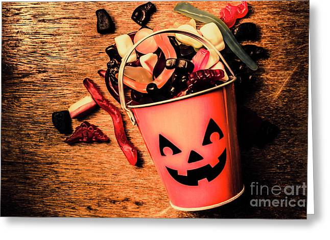 Food For The Little Halloween Spooks Greeting Card by Jorgo Photography - Wall Art Gallery
