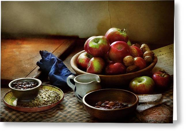 Food - Fruit - Ready For Breakfast Greeting Card