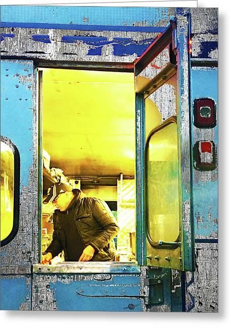 Food Truck Greeting Card