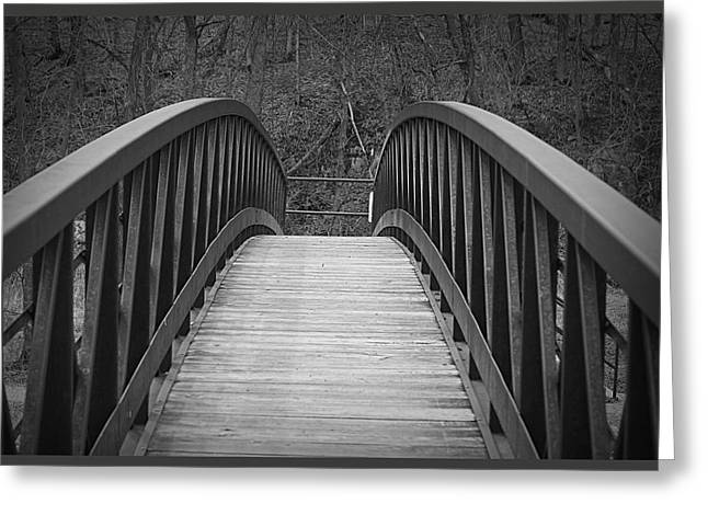 Foot Bridge Greeting Card