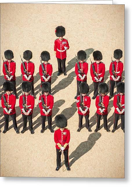 Foot Guards Greeting Card