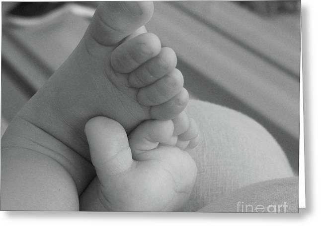 Foot Joy....... Greeting Card by WaLdEmAr BoRrErO