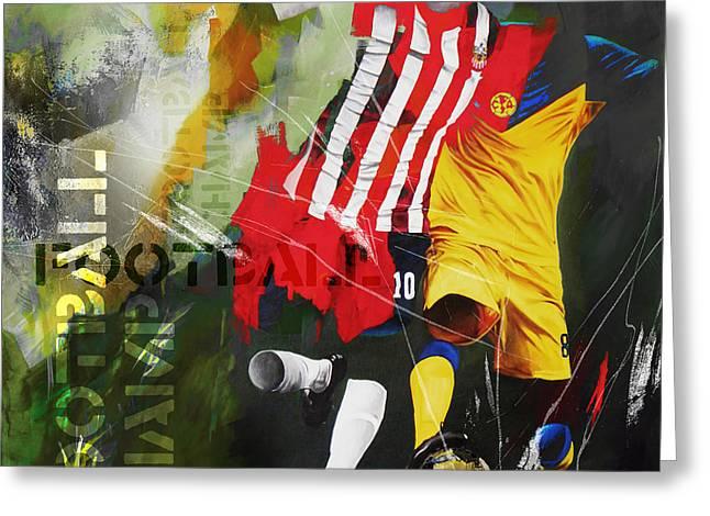 Football 675kk Greeting Card by Gull G