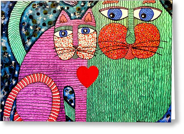 For All The Cats I Greeting Card by Cynda LuClaire