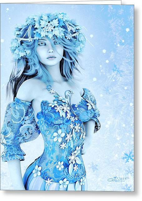 For All Winter Friends Greeting Card by Jutta Maria Pusl