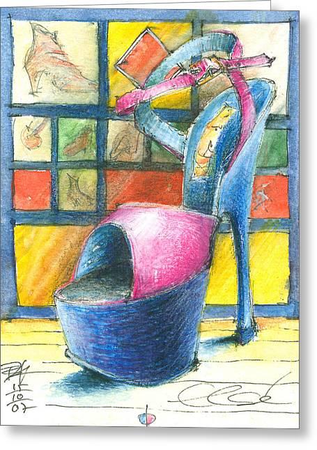 For Else Greeting Card by Joerg Bernhard Klemmer