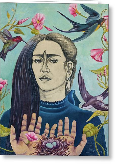 For Frida Greeting Card by Sheri Howe