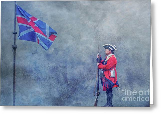 For Love Of Country Greeting Card by Randy Steele