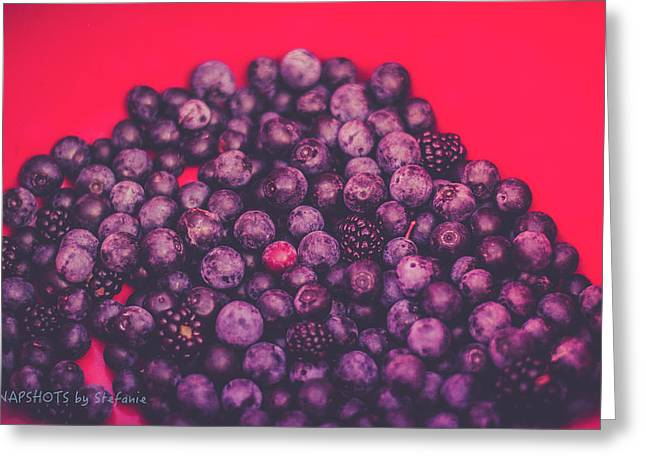 For The Love Of Berries Greeting Card