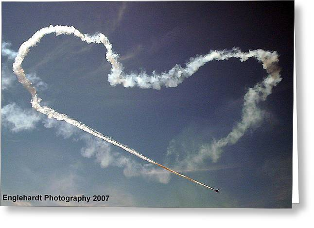 For The Love Of Flight Greeting Card by Jennifer Englehardt