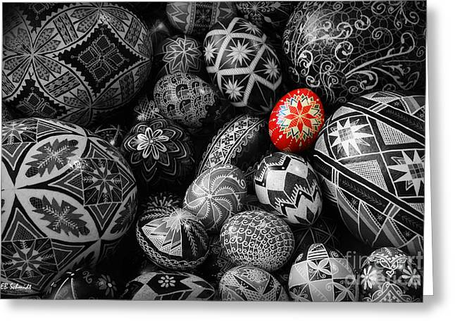 For The Love Of Pysanky Greeting Card