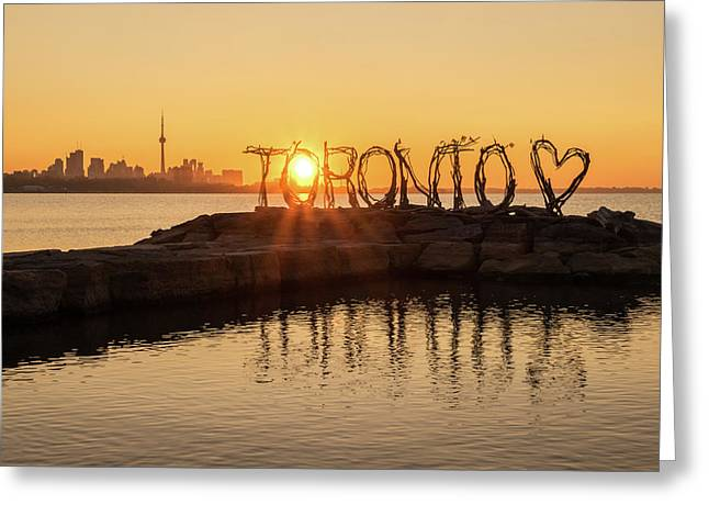 For The Love Of Toronto Greeting Card