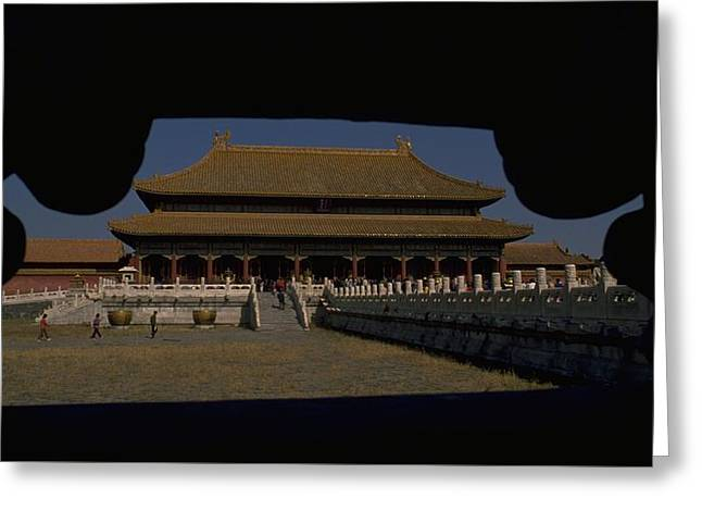 Forbidden City, Beijing Greeting Card