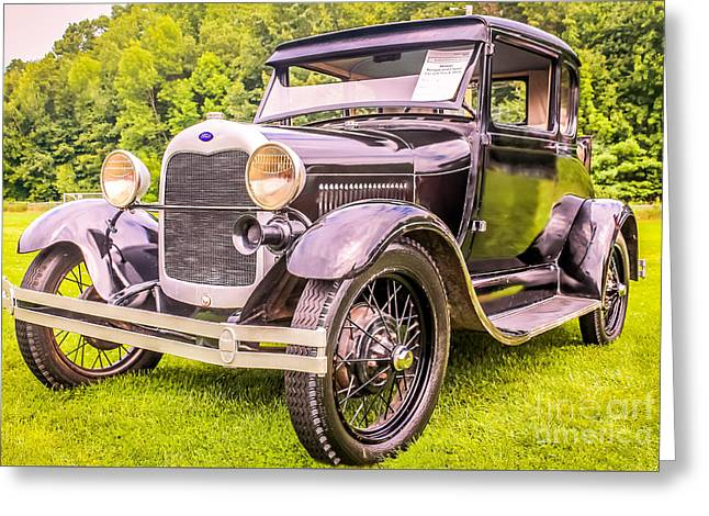 Ford - 1927 Greeting Card
