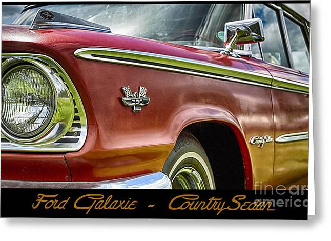 Ford 22 Greeting Card by Wendy Wilton