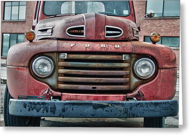 Ford 4623 Greeting Card by Guy Whiteley