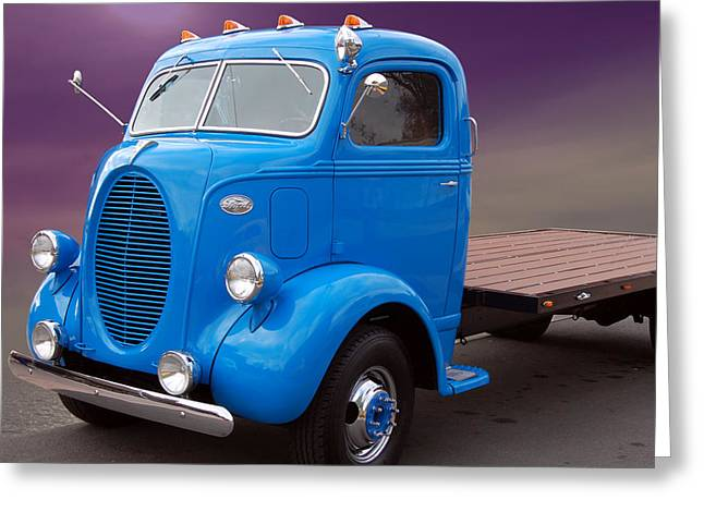 Ford Coe Flatbed Greeting Card
