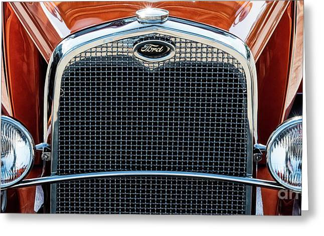 Greeting Card featuring the photograph Ford Coupe by Brad Allen Fine Art