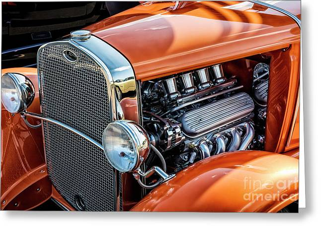 Ford Coupe II Greeting Card by Brad Allen Fine Art