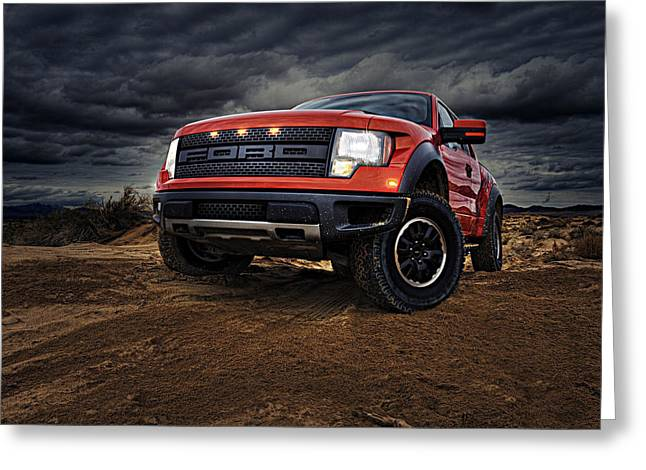Ford F 150 Raptor  Greeting Card