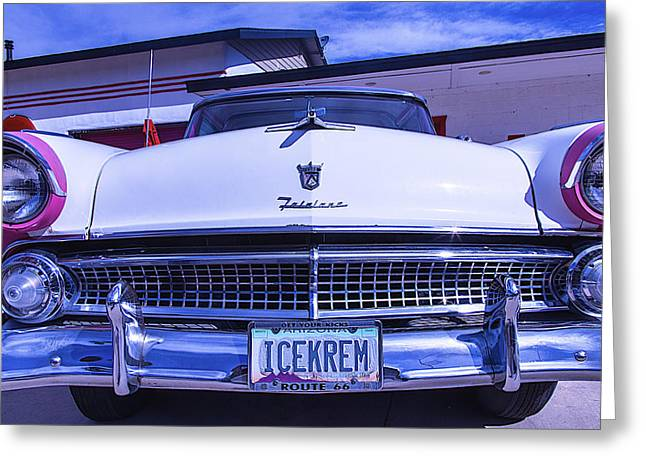 Ford Fairlane Greeting Card by Garry Gay