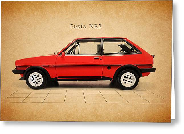Ford Fiesta Xr2 Greeting Card