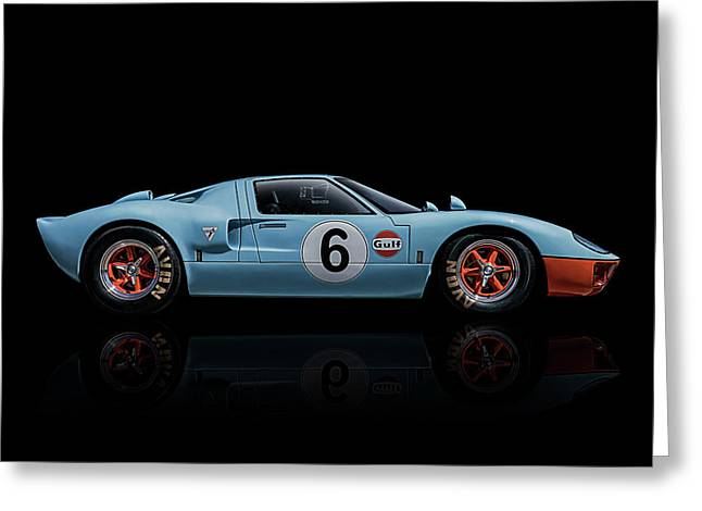 Ford Gt 40 Greeting Card