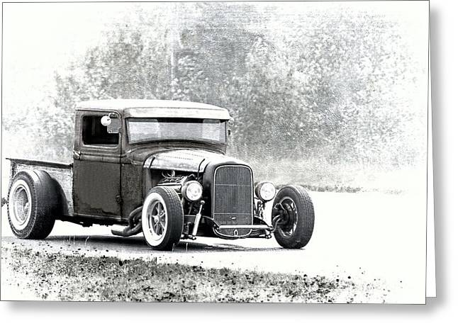Ford Hot Rod Greeting Card