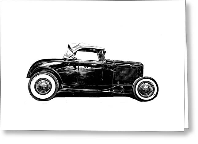 Ford Hot Rod Tee Greeting Card