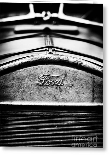 Ford Made In Usa  Greeting Card