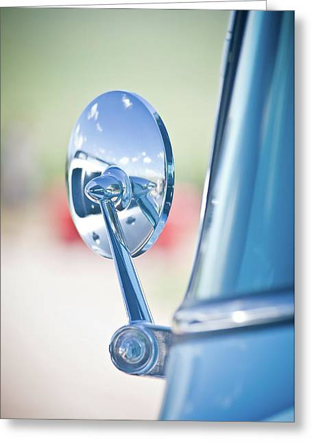 Ford Mirror Greeting Card by Swift Family