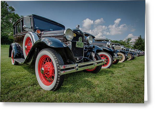 Ford Model T Collection Greeting Card