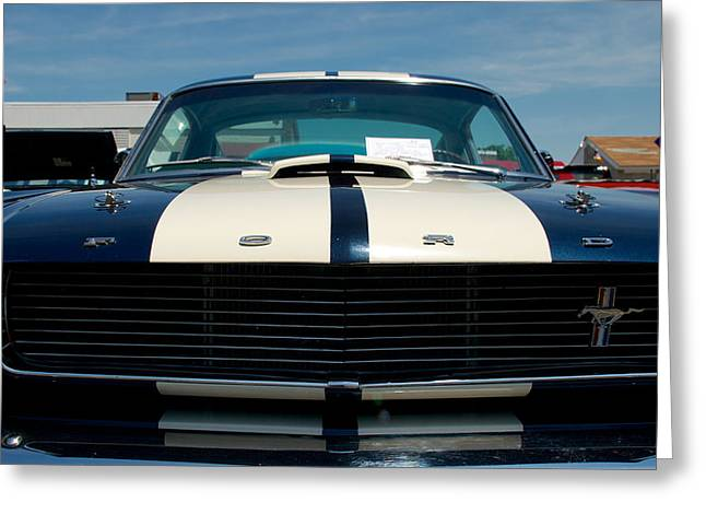 Ford Mustang 2 Greeting Card