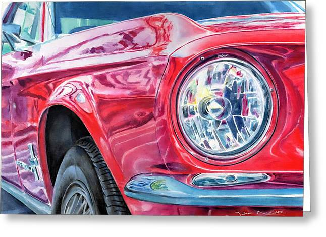 Ford Mustang Greeting Card