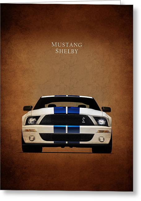 Ford Mustang Shelby 06 Greeting Card by Mark Rogan