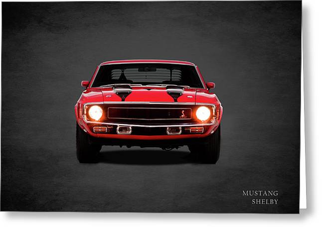 Ford Mustang Shelby 69 Greeting Card