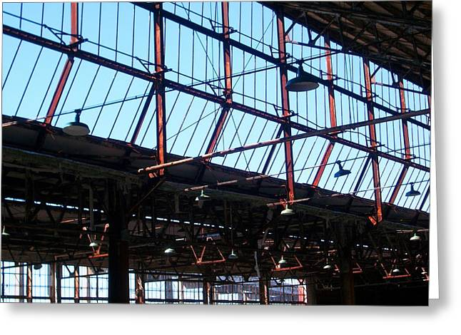Ford Plant Skylights Greeting Card