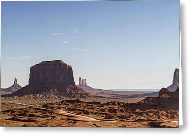 Ford Point Monument Valley Gigapan  Greeting Card
