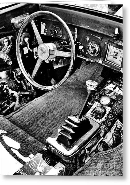 Ford Rat Rod Greeting Card by Tim Gainey