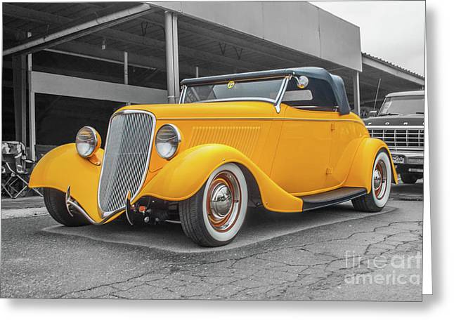 Ford Roadster Greeting Card