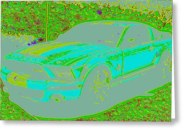 Ford Shelby D4 Greeting Card by Modified Image