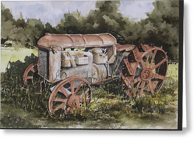 Fordson Model F Greeting Card