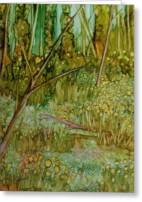 Forest Deep Greeting Card