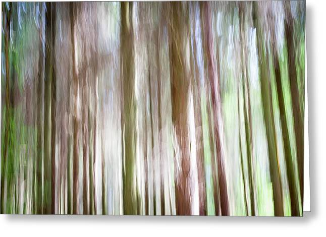 Forest Fantasy 4 Greeting Card