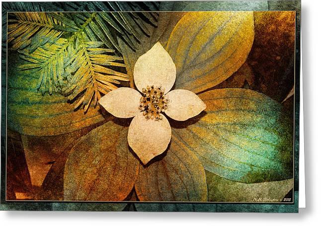 Forest Floor Flower 2 Greeting Card