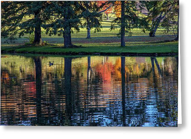 Forest Hill Reflections I Greeting Card