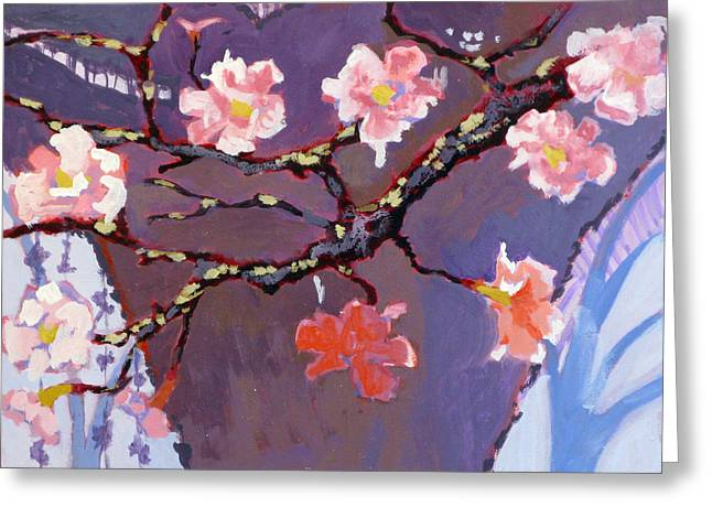Forest In Bloom Greeting Card by Robert Bissett