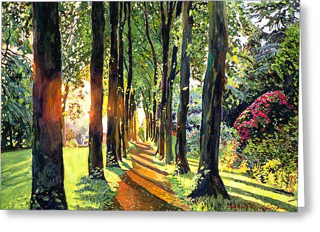 Best Choice Paintings Greeting Cards - Forest of Enchantment Greeting Card by David Lloyd Glover